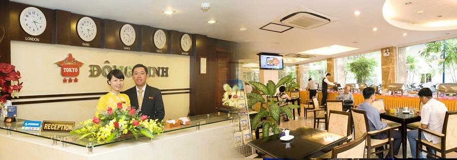 Khách sạn quận 5 Đông Kinh - Khách sạn 3 sao hcm